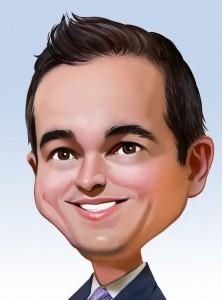 Dustin Caricature